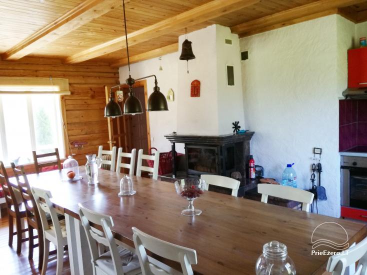 Atsevišķa ģimenes brīvdienu māja pie ezera Alytu rajona, Lietuvā - 10