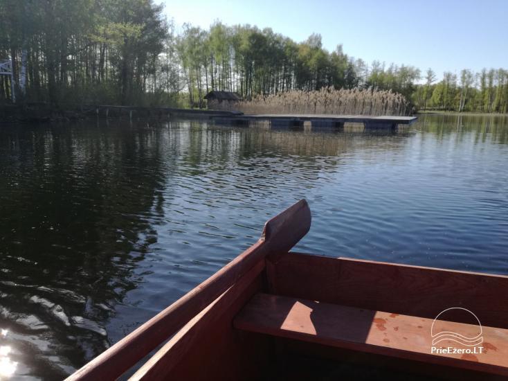 Atsevišķa ģimenes brīvdienu māja pie ezera Alytu rajona, Lietuvā - 3