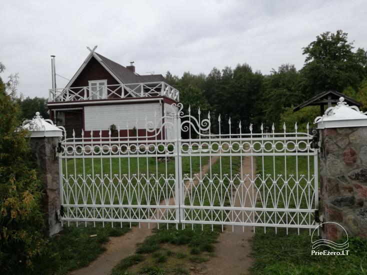 Atsevišķa ģimenes brīvdienu māja pie ezera Alytu rajona, Lietuvā - 15