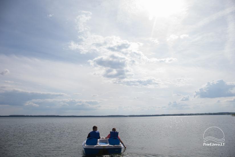 Bungalo ģimenes atpūtai Dusios ezerā Lazdiju rajonā, Lietuvā - 11