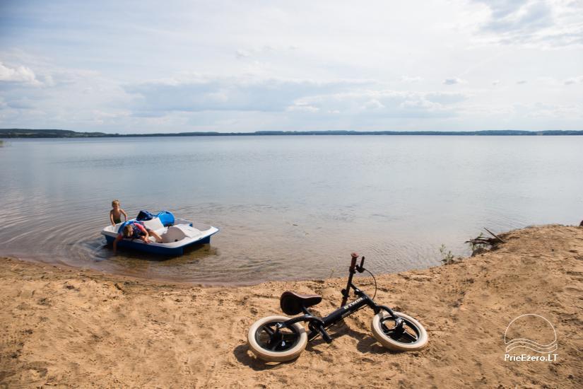 Bungalo ģimenes atpūtai Dusios ezerā Lazdiju rajonā, Lietuvā - 14