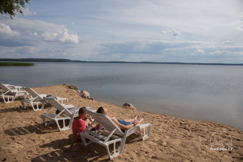 Bungalo ģimenes atpūtai Dusios ezerā Lazdiju rajonā, Lietuvā - 16