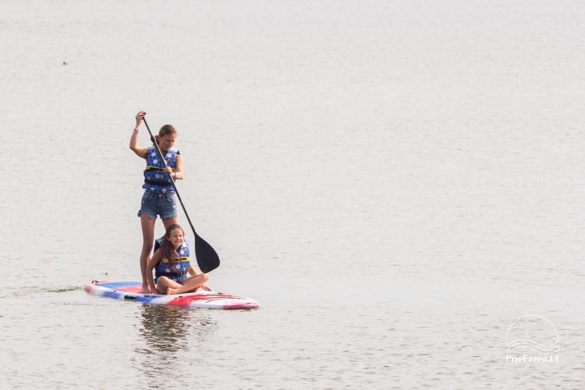 Bungalo ģimenes atpūtai Dusios ezerā Lazdiju rajonā, Lietuvā - 20