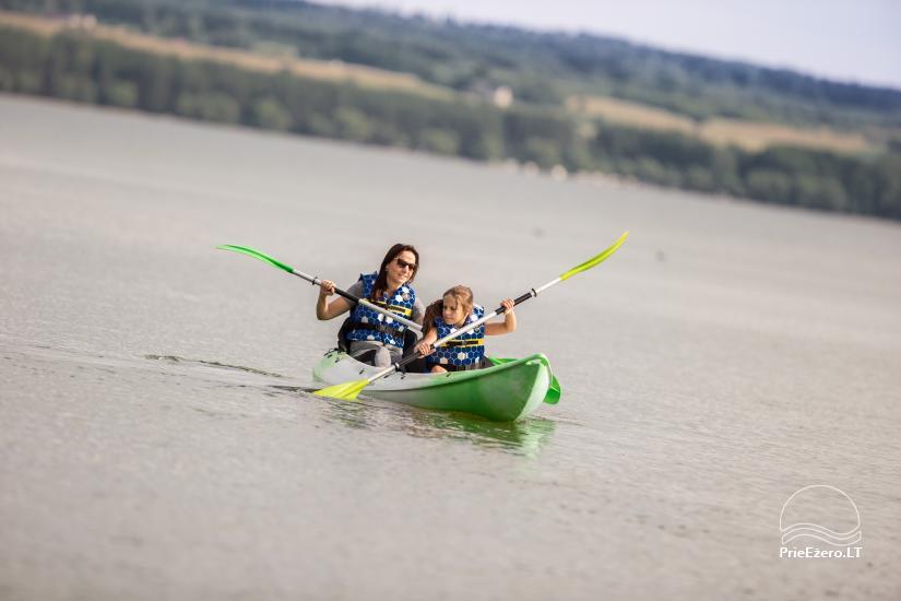 Bungalo ģimenes atpūtai Dusios ezerā Lazdiju rajonā, Lietuvā - 21
