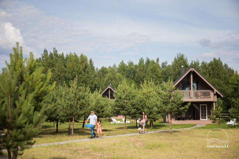 Bungalo ģimenes atpūtai Dusios ezerā Lazdiju rajonā, Lietuvā - 25