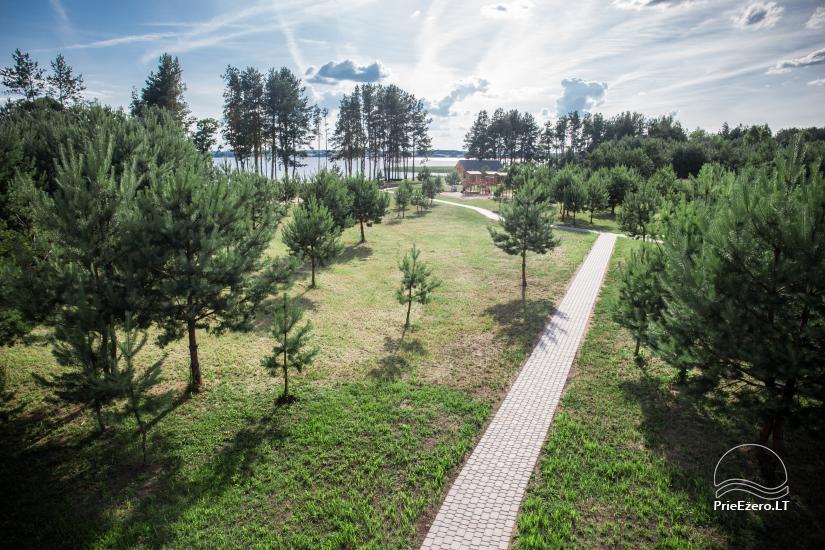 Bungalo ģimenes atpūtai Dusios ezerā Lazdiju rajonā, Lietuvā - 40