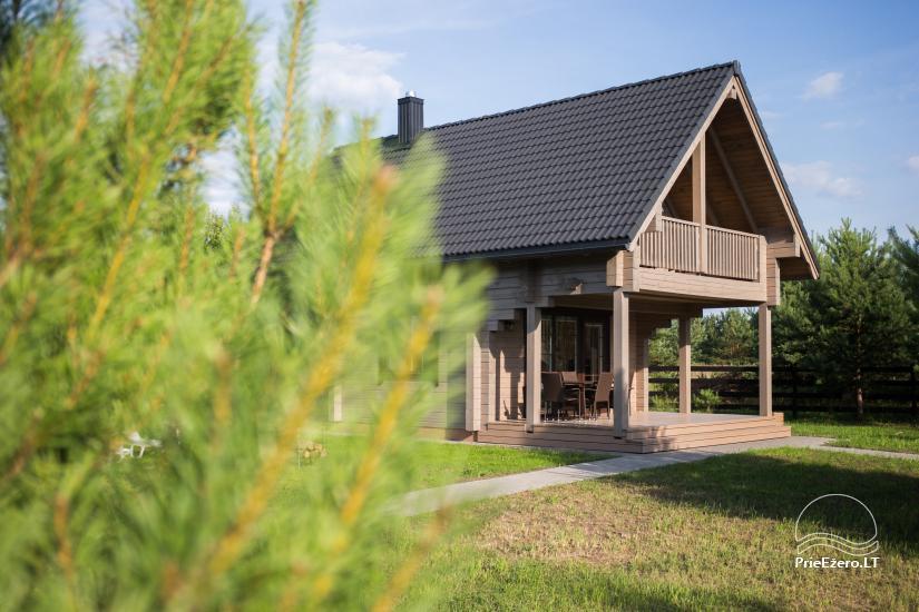 Bungalo ģimenes atpūtai Dusios ezerā Lazdiju rajonā, Lietuvā - 44