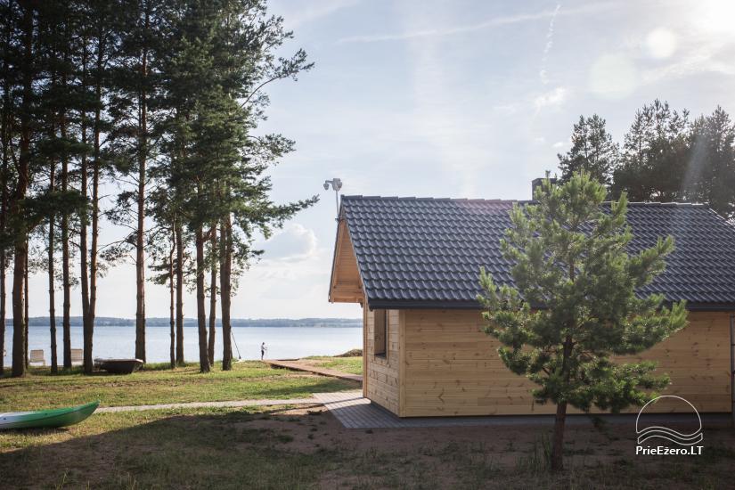 Bungalo ģimenes atpūtai Dusios ezerā Lazdiju rajonā, Lietuvā - 4