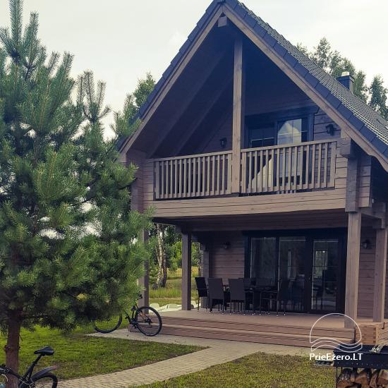 Bungalo ģimenes atpūtai Dusios ezerā Lazdiju rajonā, Lietuvā - 49