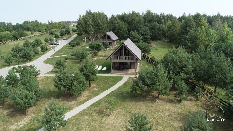 Bungalo ģimenes atpūtai Dusios ezerā Lazdiju rajonā, Lietuvā - 6