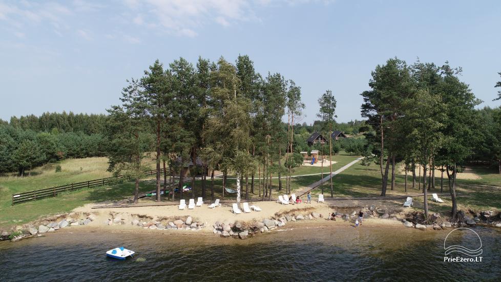 Bungalo ģimenes atpūtai Dusios ezerā Lazdiju rajonā, Lietuvā - 8