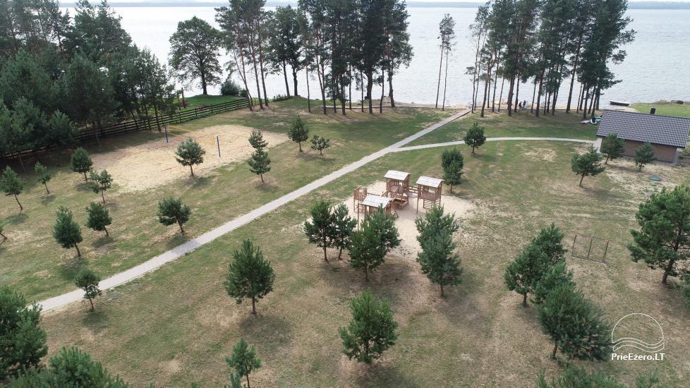 Bungalo ģimenes atpūtai Dusios ezerā Lazdiju rajonā, Lietuvā - 9