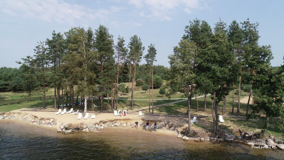 Bungalo ģimenes atpūtai Dusios ezerā Lazdiju rajonā, Lietuvā - 17
