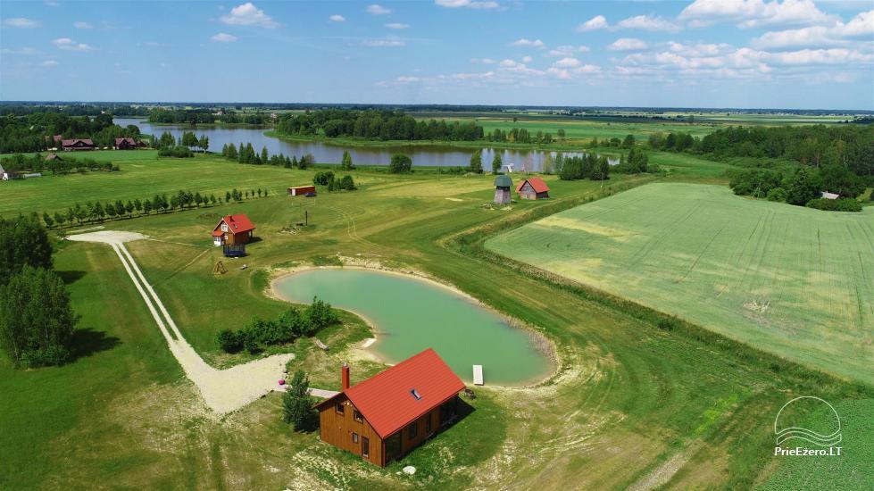 Homestead Sinkunu dzirnavas Ukmerges rajonā, Lietuvā - 4