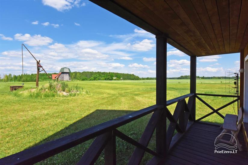 Homestead Sinkunu dzirnavas Ukmerges rajonā, Lietuvā - 30