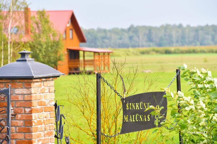 Homestead Sinkunu dzirnavas Ukmerges rajonā, Lietuvā - 2