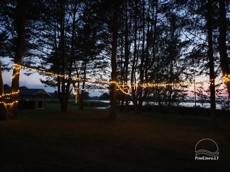 Lauku sēta Žiburiai ezera krastā - 8