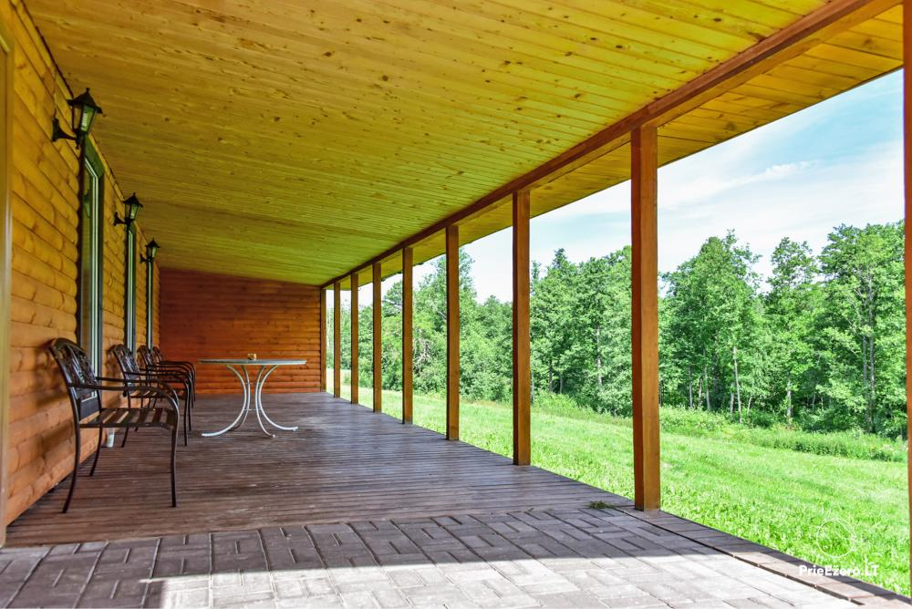 Lauku māja pie Avila ezera Zarasai rajonā, Lietuvā - 4