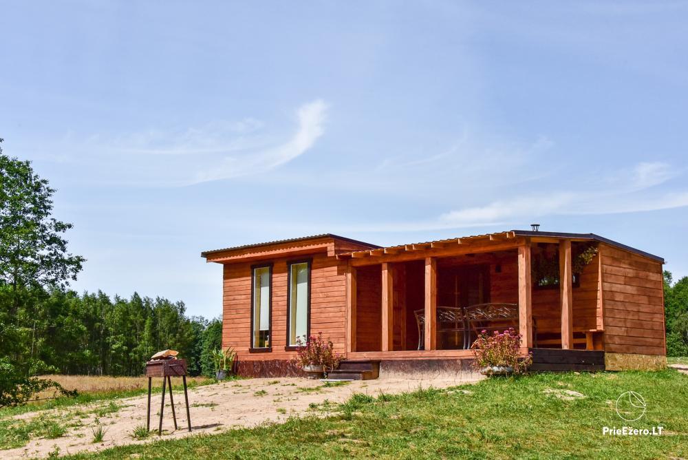 Lauku māja pie Avila ezera Zarasai rajonā, Lietuvā - 18