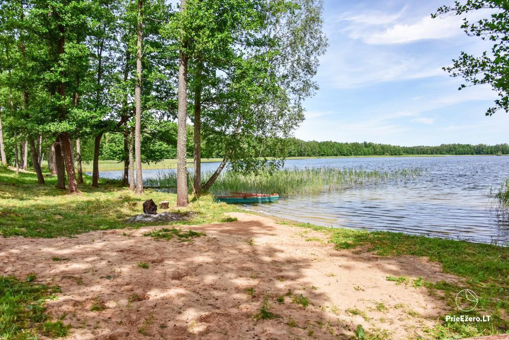Lauku māja pie Avila ezera Zarasai rajonā, Lietuvā - 47