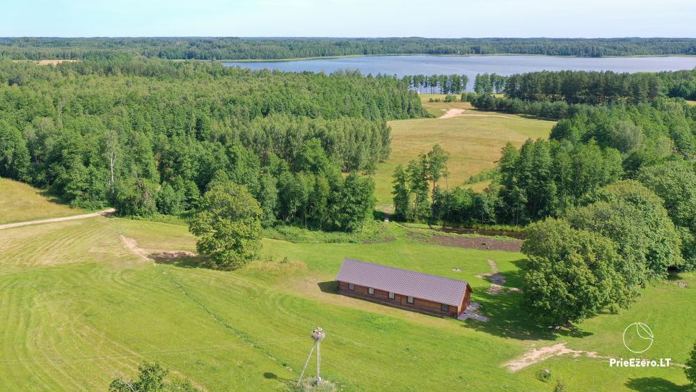 Lauku māja pie Avila ezera Zarasai rajonā, Lietuvā - 17