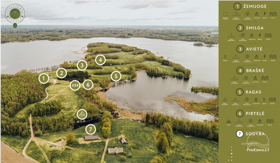 Lauku māja pie Avila ezera Zarasai rajonā, Lietuvā - 50