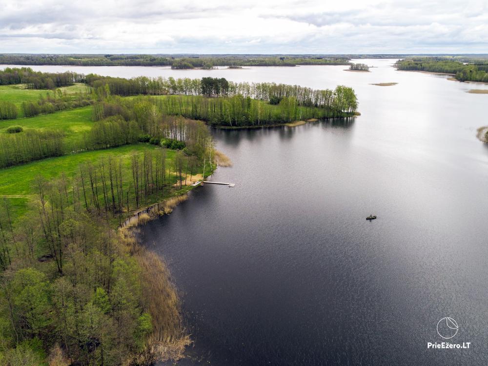 Lauku māja pie Avila ezera Zarasai rajonā, Lietuvā - 20