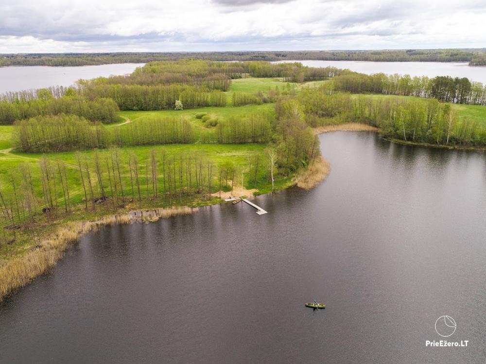 Lauku māja pie Avila ezera Zarasai rajonā, Lietuvā - 25