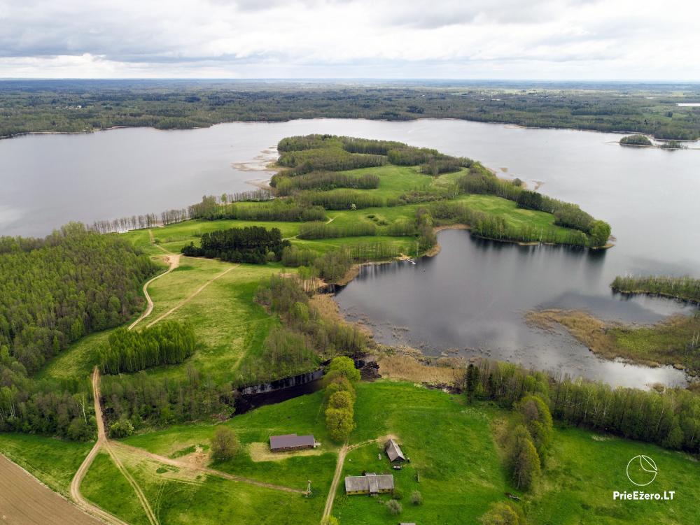 Lauku māja pie Avila ezera Zarasai rajonā, Lietuvā - 23