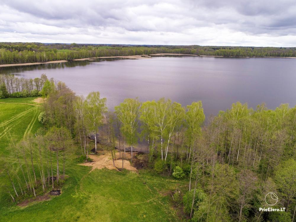 Lauku māja pie Avila ezera Zarasai rajonā, Lietuvā - 41