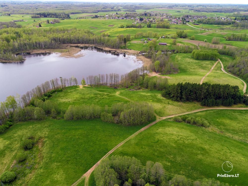 Lauku māja pie Avila ezera Zarasai rajonā, Lietuvā - 39