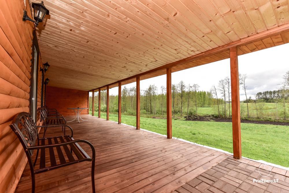 Lauku māja pie Avila ezera Zarasai rajonā, Lietuvā - 3