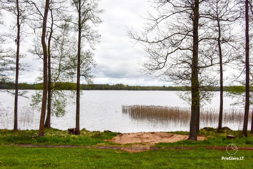 Lauku māja pie Avila ezera Zarasai rajonā, Lietuvā - 36