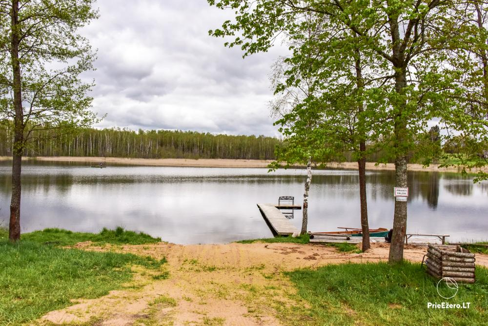 Lauku māja pie Avila ezera Zarasai rajonā, Lietuvā - 32