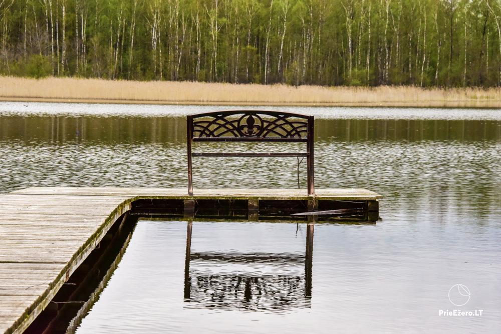 Lauku māja pie Avila ezera Zarasai rajonā, Lietuvā - 48