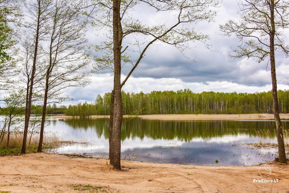 Lauku māja pie Avila ezera Zarasai rajonā, Lietuvā - 46