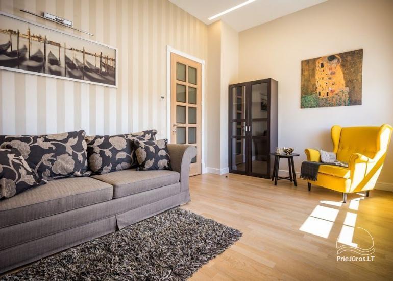 Luksusa dzīvokļu īre Klaipēdā SMELYNAS Klaipēdas māja - 6