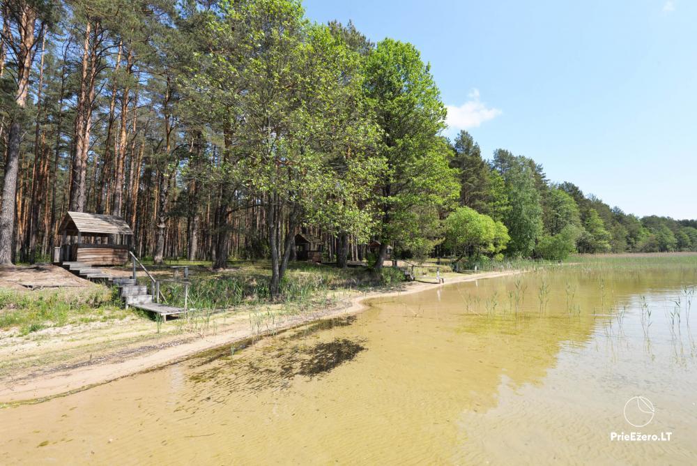 Kempings pie ezera Lavyso - 26
