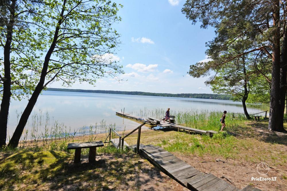 Kempings pie ezera Lavyso - 24