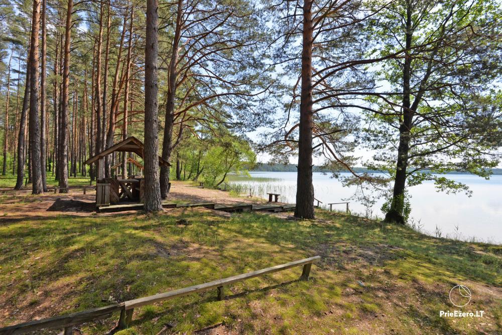 Kempings pie ezera Lavyso - 23