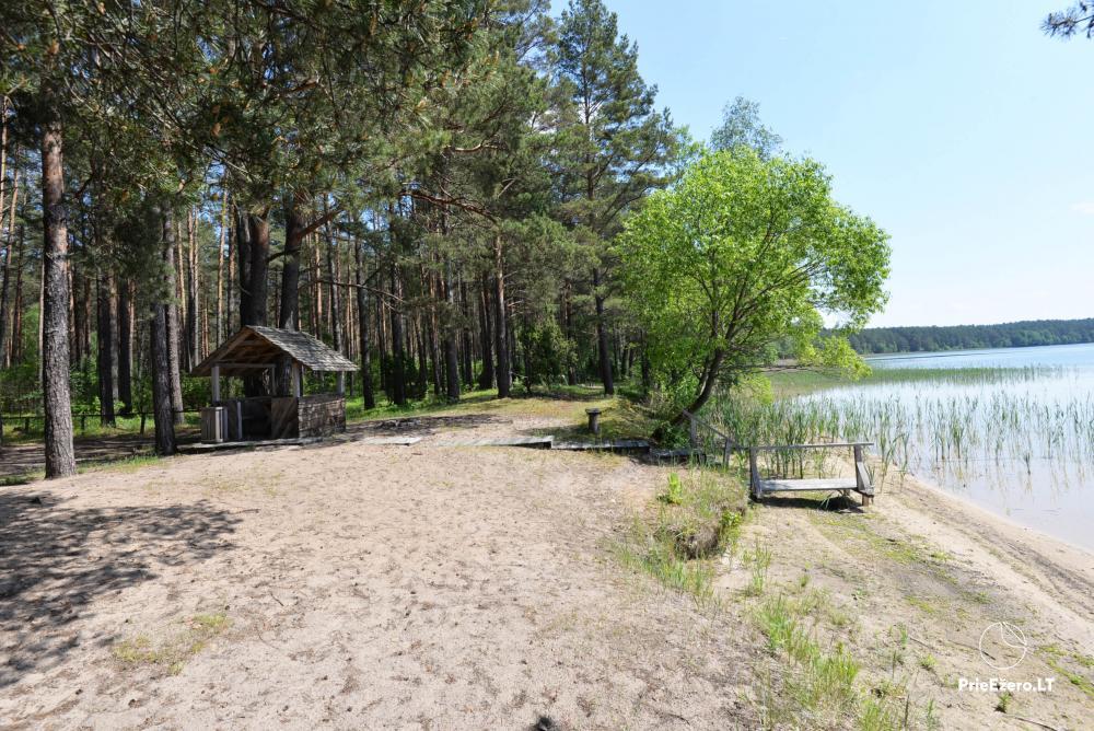 Kempings pie ezera Lavyso - 20