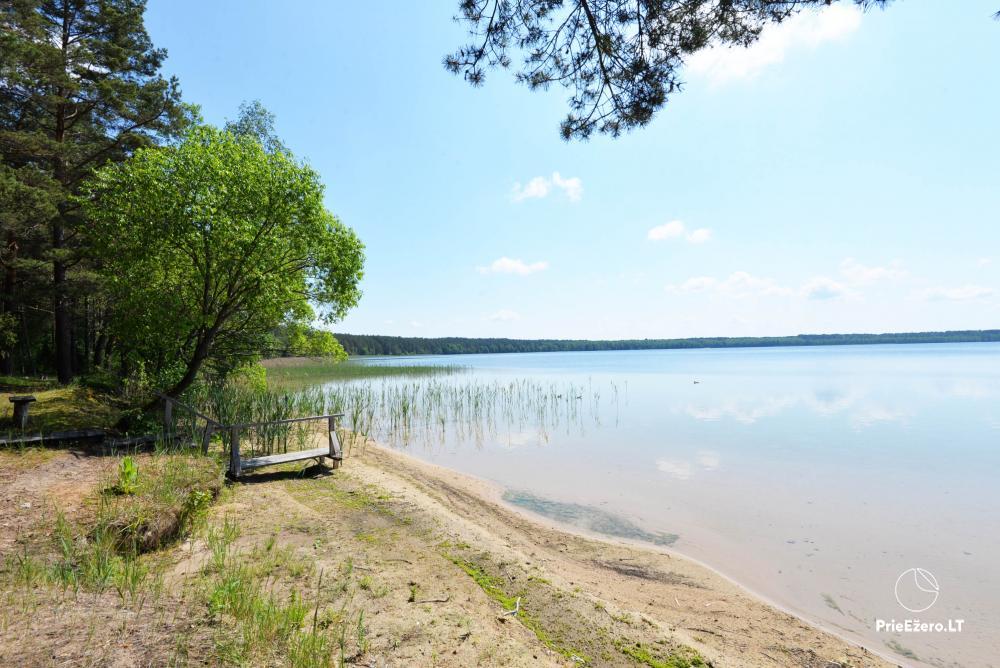 Kempings pie ezera Lavyso - 19