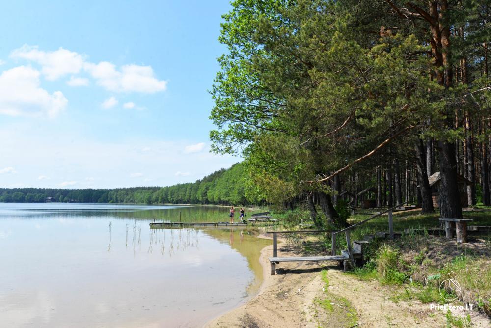 Kempings pie ezera Lavyso - 18