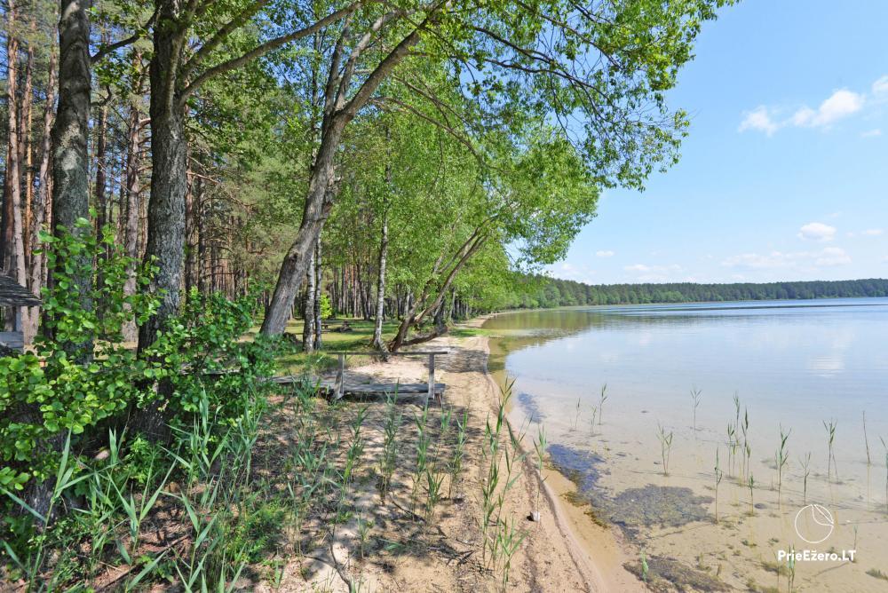 Kempings pie ezera Lavyso - 6