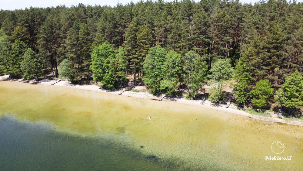 Kempings pie ezera Lavyso - 1