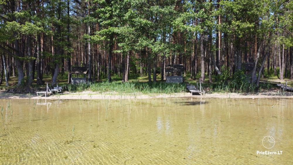 Kempings pie ezera Lavyso - 4