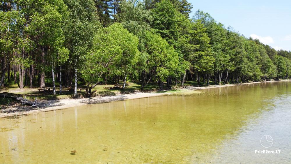 Kempings pie ezera Lavyso - 3