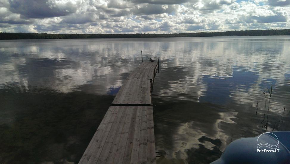 Kempings pie ezera Lavyso - 30