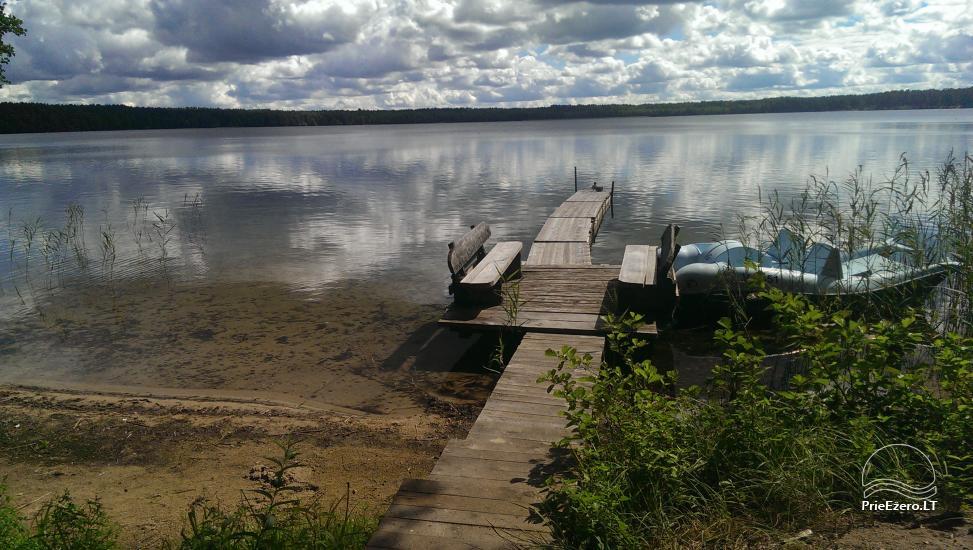 Kempings pie ezera Lavyso - 29