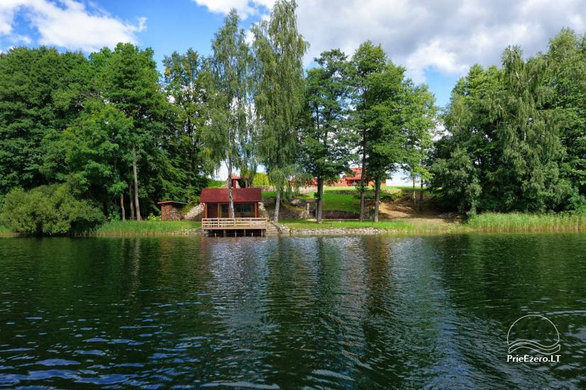 Viesu māja netālu Dubingiai, villa Baluošas - 25